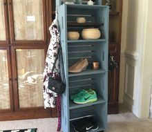crate storage with a new spin, storage ideas