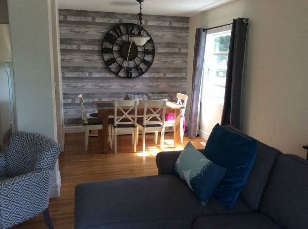13 low budget ways to decorate your living room walls hometalk for Decorating living room walls on a budget