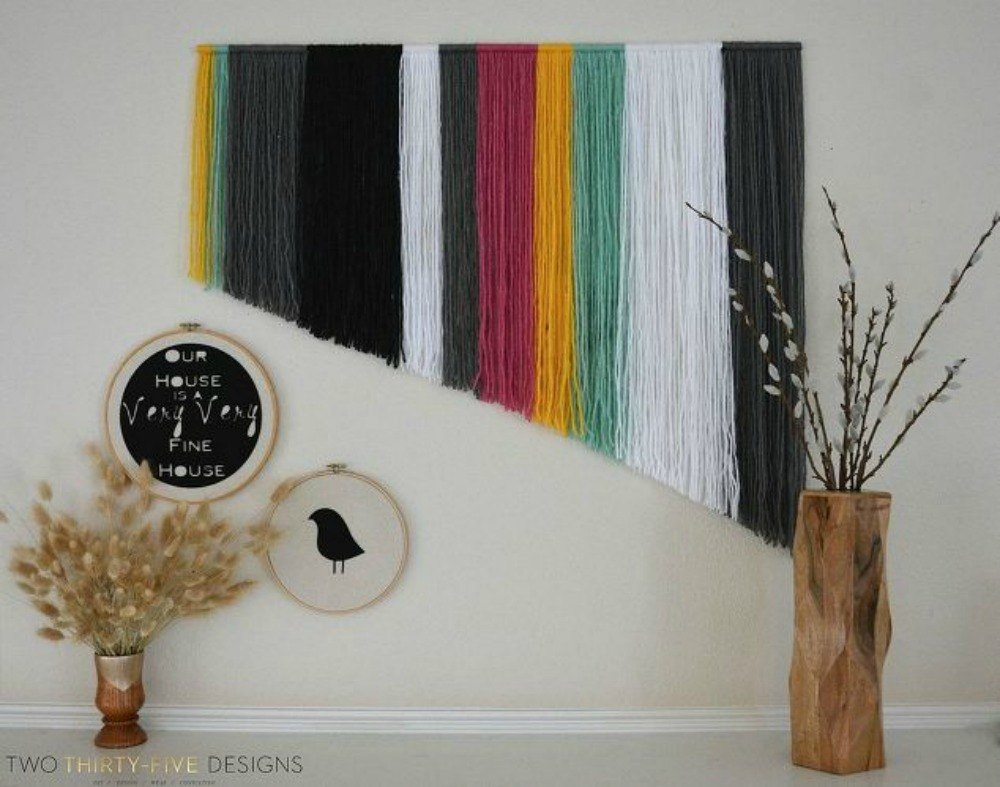 Create Your Own Yarn Wall