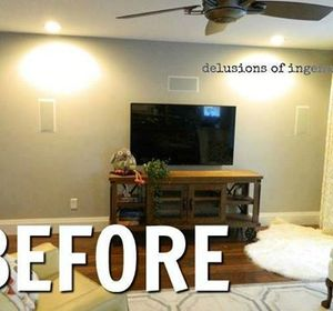 s 13 low budget ways to decorate your living room walls, go green, plumbing