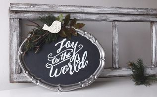 how to transfer letters on a chalkboard, chalkboard paint, crafts, how to