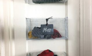 wire storage baskets, crafts, storage ideas