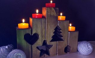 tea light holders for christmas