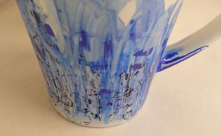 artsy mugs on a shoestring