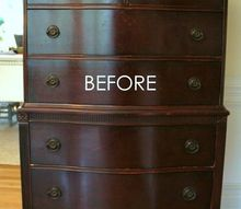 giverny chalk paint makeover with white wax , chalk paint, painting