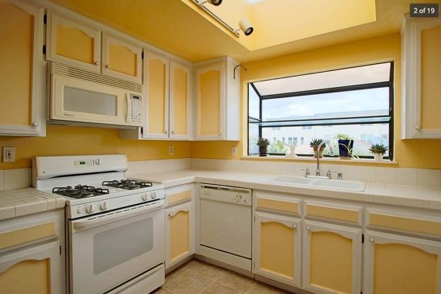 A homeowner saves thousands on her kitchen makeover first for Complete kitchen remodel