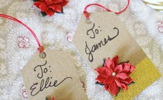 easy handmade christmas gift tags
