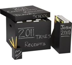 ... Paint Them With Chalkboard Paint, So That You Can Write On The Box What  Is Inside Each One. Here Is An Example   Not Shoe Boxes But Same Idea! Have  Fun!