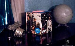 rogue one a star wars story diy night light with kleenex brand box