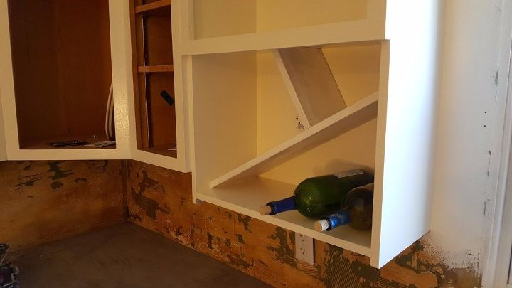Transformation Of A Microwave Cabinet Hometalk