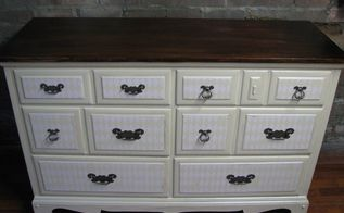try try again argyle dresser, painted furniture