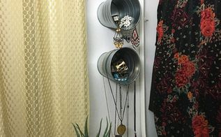 galvanized bucket jewelry storage, storage ideas