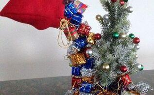 cascading presents from santa s bag