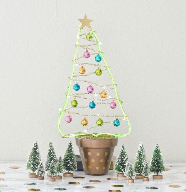 Diy Flower Pot Christmas Tree Hometalk