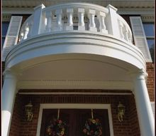anatomy of a balcony facelift, porches, The Completed Balcony Facelift