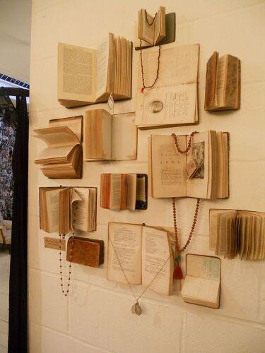 Creative help diy book decor hometalk for Home decor hwy 6