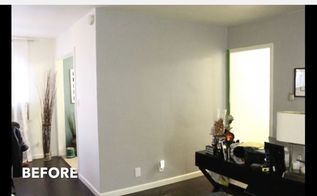 how to paint a striped accent wall, home decor, how to, wall decor
