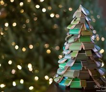 diy christmas tree craft, crafts