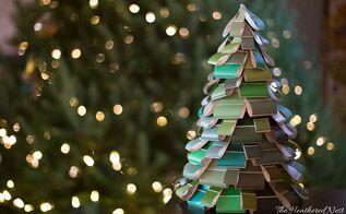 diy christmas tree craft, crafts