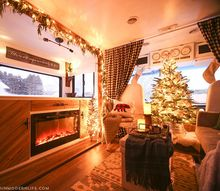 rv christmas home tour, home decor