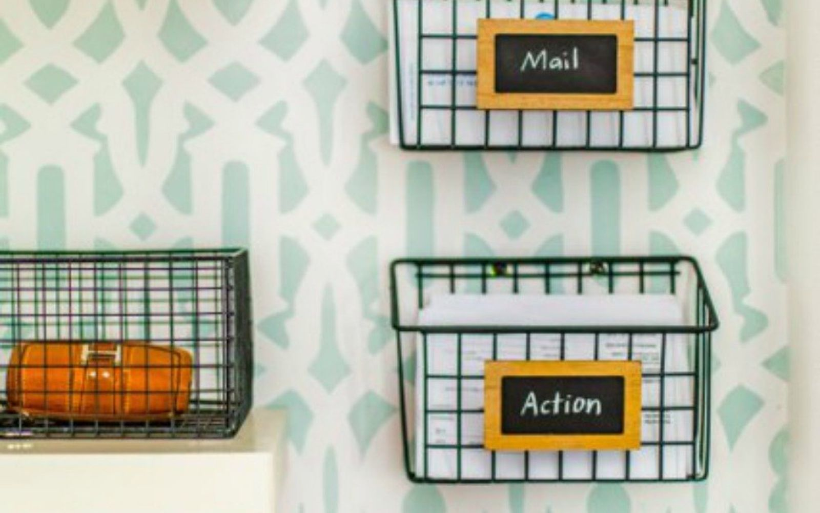 s 14 amazing basket ideas from highly creative moms, crafts, Turn them into mail sorters