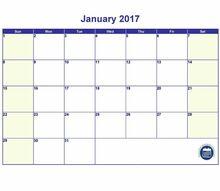 printable calendar 2017 template
