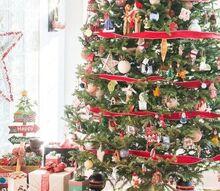 trimming a sentimental christmas tree