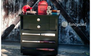 how to make a baseball dresser, how to, painted furniture