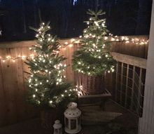 nature inspired christmas home complete with pet bunny part 1, home decor
