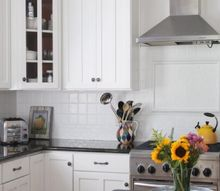 we painted our kitchen backsplash, kitchen backsplash, kitchen design