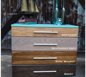 Stained Ombre Dresser Set  Hometalk