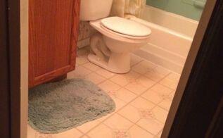 small bathroom renovation after reveal, bathroom ideas