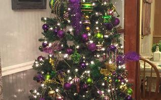my mardi gras tree, Took down Christmas and put up Mardi Gras