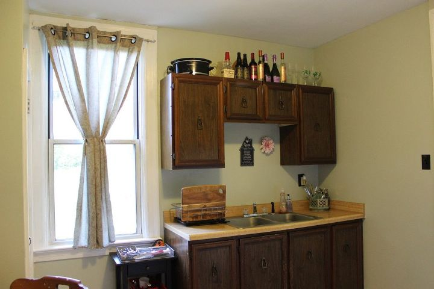$150 Kitchen Renew With Fresh Paint & Flooring