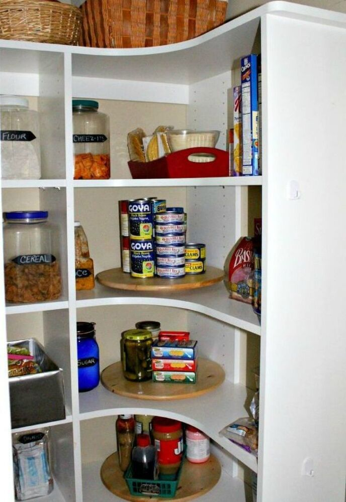 Baking Pantry Organization