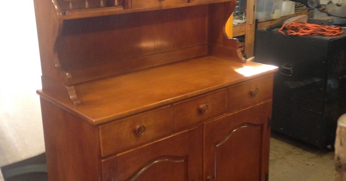 Farmhouse Hutch Furniture Makeover Country Style
