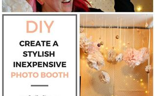 rock your new year s eve party with this crowd pleasing photo booth, gardening, landscape