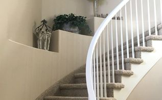 staircase makeover, stairs
