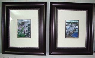 bargain frame makeover