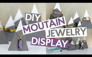 diy mountain jewelry displays
