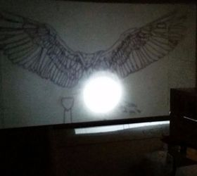 Diy Wall Mural With A Homemade Projector, Painting