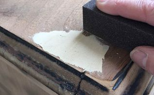 quickly remove old paint from furniture, painted furniture