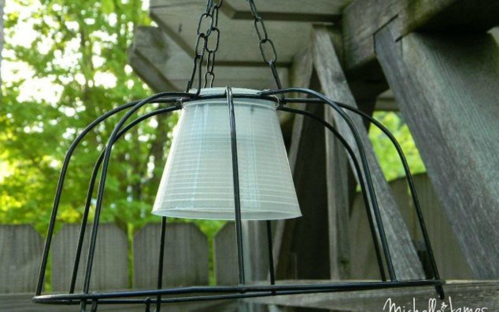 s you need to try these dollar store bucket ideas, Hang them outside for extra lighting