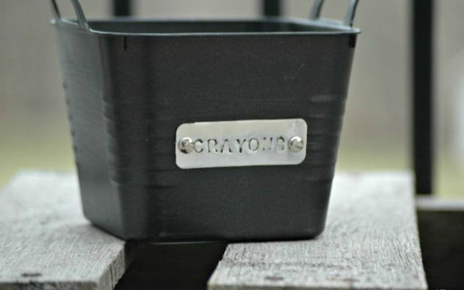 s you need to try these dollar store bucket ideas, Customize them with tags for special use