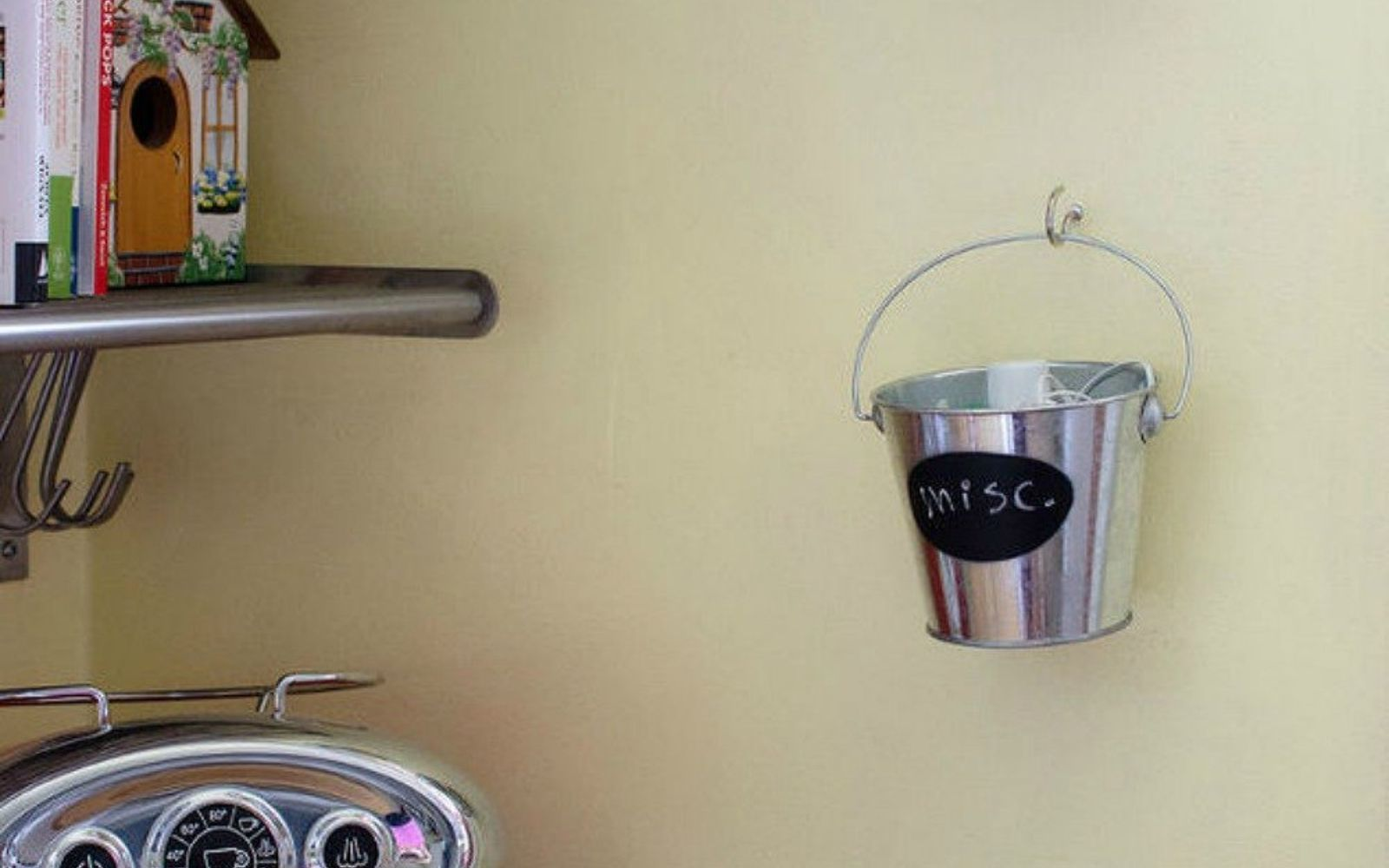 s you need to try these dollar store bucket ideas, Hook them up as organizers for your office