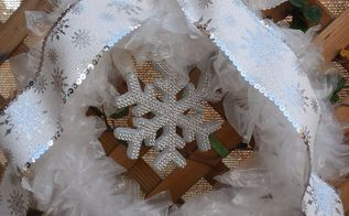 winters wreath, crafts, wreaths