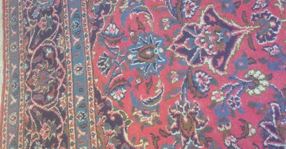 How Do I Change The Colors In My New Persian Rug To Look