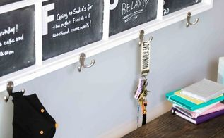 diy chalkboard calendar window, chalkboard paint, crafts