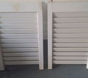 make a hall tree from old shutter doors curb appeal doors