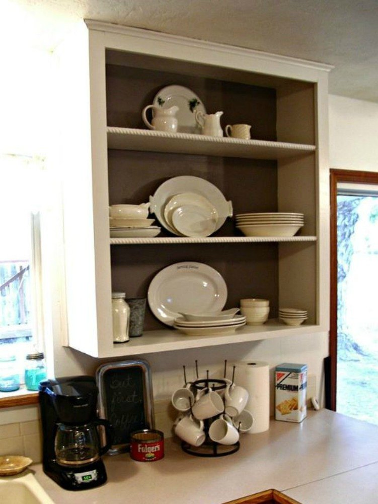 15 clever ways to add more kitchen storage space with open for Additional kitchen storage ideas
